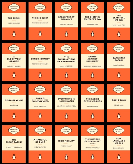 Penguin Book Cover Wedding Invitation Template : Il colore della lettura le copertine dei libri come segni