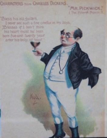 Samuel Pickwick, retired businessman