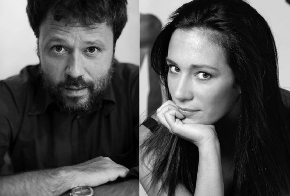 Luca Manzi e Chiara Gamberale